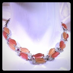 1950 glass necklace